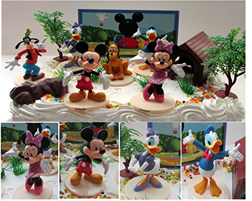Magnificent Piece Of Cake Party Supplies Mickey Mouse Clubhouse Birthday Personalised Birthday Cards Veneteletsinfo
